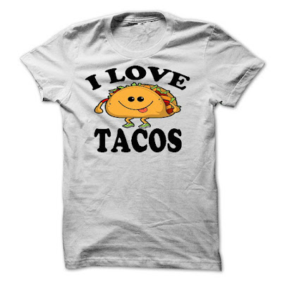 I Love Tacos T Shirt and Hoodie