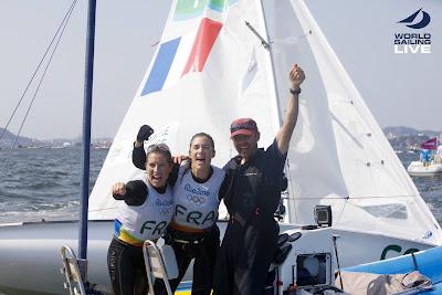 Le bronze pour Camille Lecointre et Hélène Defrance à Rio !