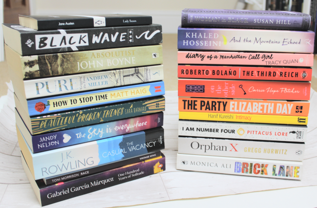 May book haul - www.nourishmeblog.co.uk