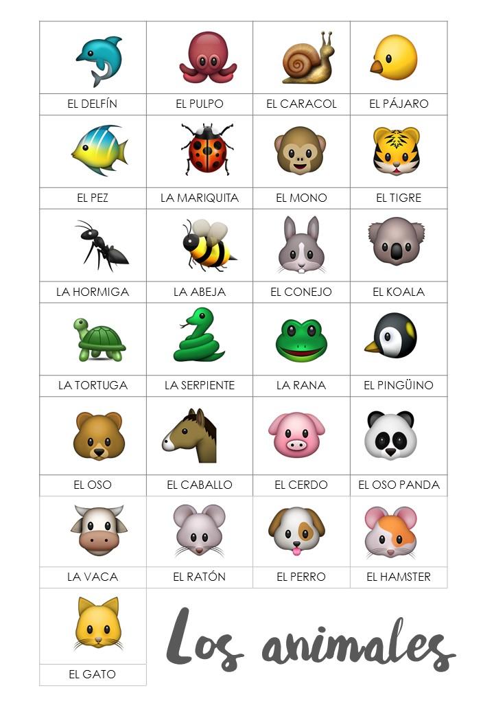Vocabulario Con Animales Ideas Y Juegos El Tarro De Los Idiomas