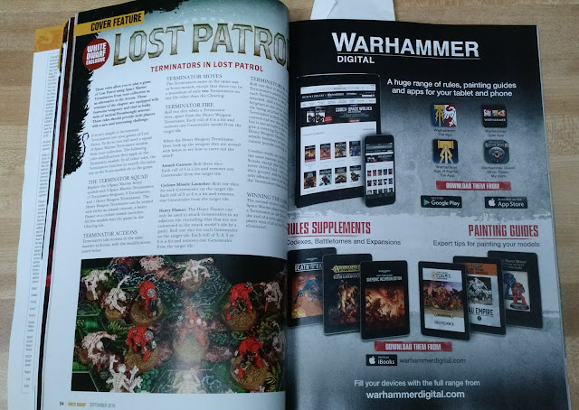 Lost Patrol White Dwarf Advertisement