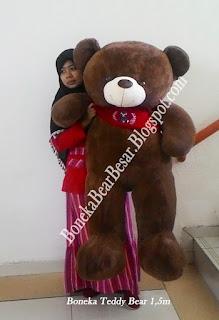 boneka teddy bear jumbo 150cm