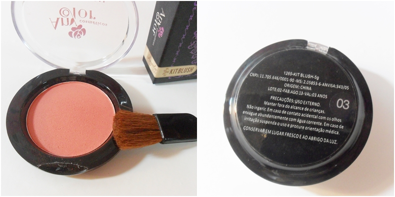BLUSHES ANYCOLOR COSMÉTICOS n°3
