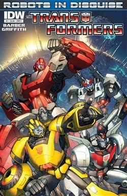 The Transformers: Robots in Disguise – Truyện tranh