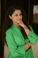 Geethanjali in Green Dress at Mixture Potlam Movie Pressmeet March 2017 058.JPG