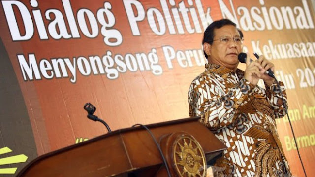 Prabowo Sindir Rezim Jokowi Jauh dari Cita Pendiri Bangsa