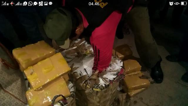 Polisi Berhasil Amankan Ganja Kering Sebanyak 70 Kilogram