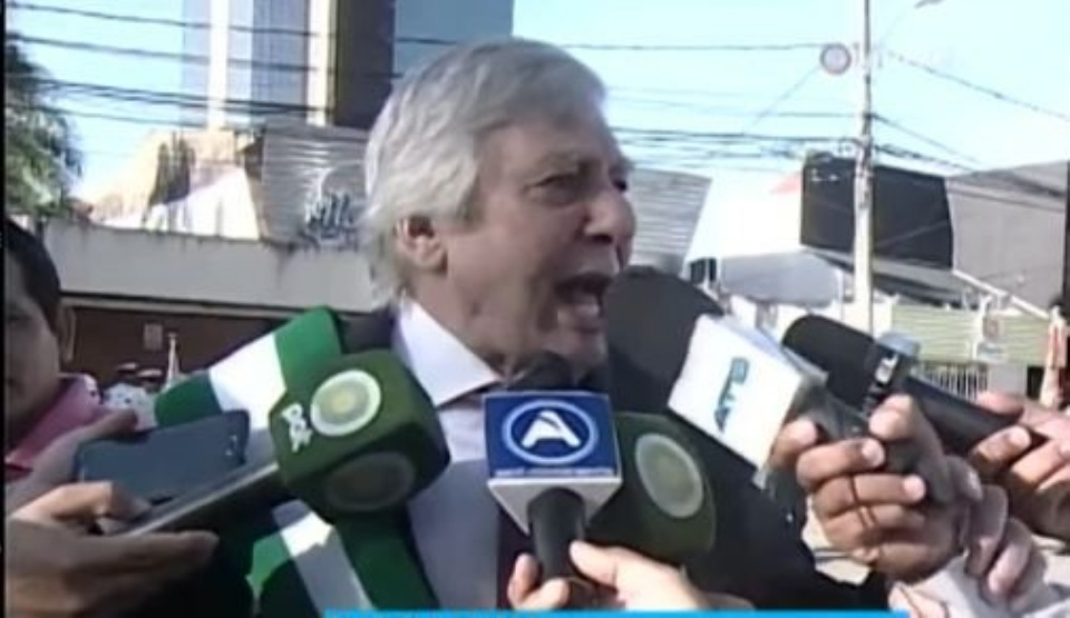Alcalde Fernández se acostumbró a insultar en público / ARCHIVO CAPTURA