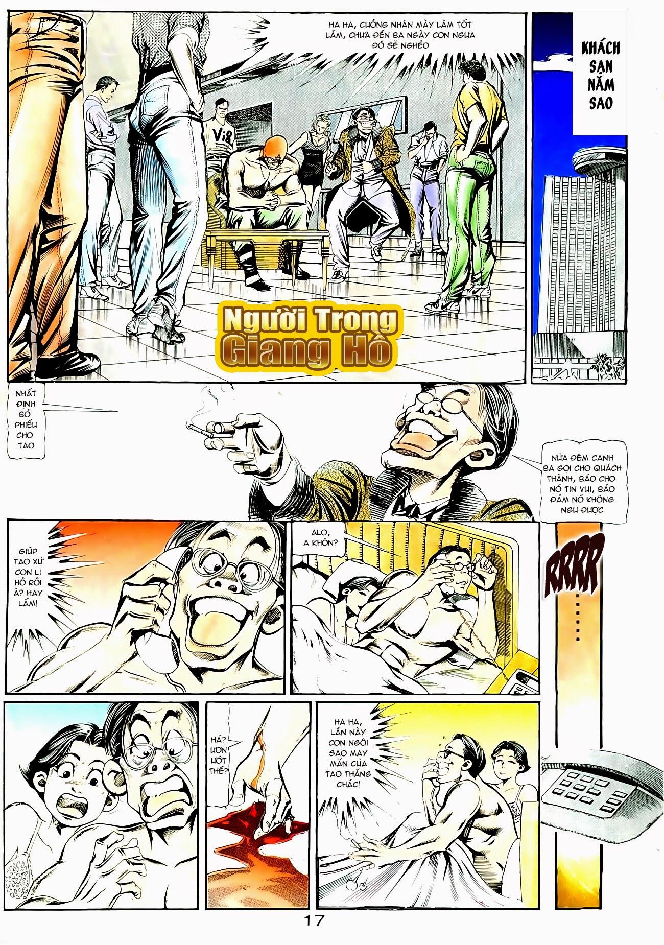 Người Trong Giang Hồ chapter 95: tình kiêu trang 28