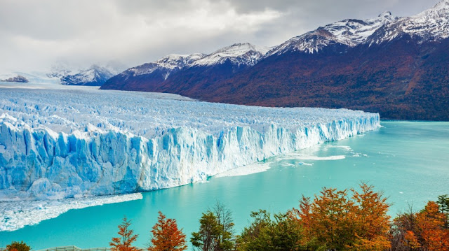 Glaciar Perito Moreno em El Calafate, Argentina