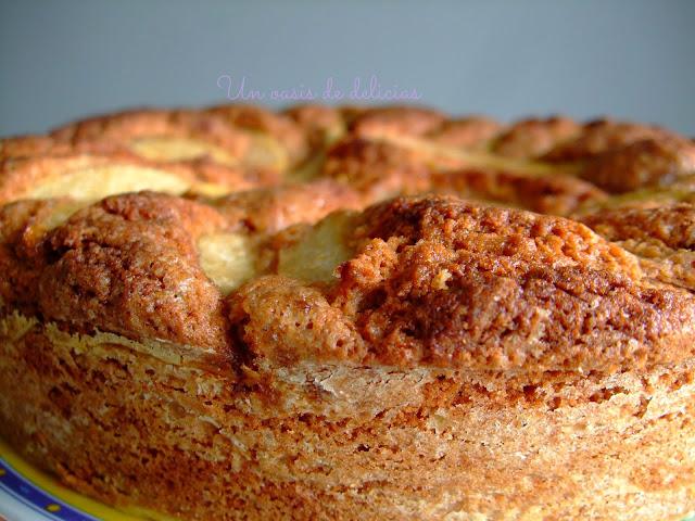 Gâteau aux poires et à la cannelle