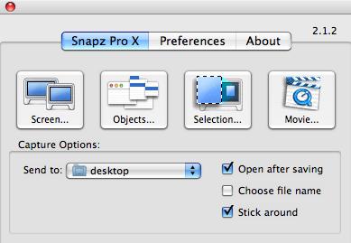 Software Perekam Video Komputer Snapz Pro X