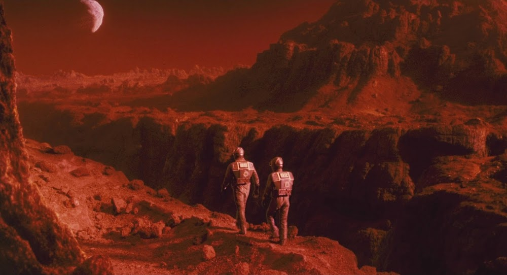 Astronauts on Mars - Total Recall 1990 movie image
