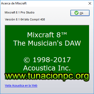 Acoustica Mixcraft Ingles Full