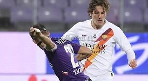 روما يعود بفوز كاسح من امام فيورنتينا يعزز به مكانته في المركز الرابع من الدوري الايطالي
