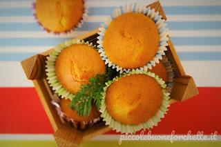 Foto Ricetta tortine dolci con carote e farina di riso per bambini