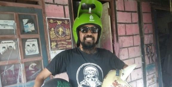 Cerita Pembuat Helm Tabung Gas 3 Kg