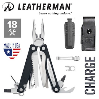 LEATHERMAN Charge ALX 18-In-1 Multi-Tool (Inc. 9pc Bit Kit, Quick Clip and Premium Sheath)