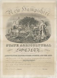 A engraved diploma.