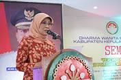 "DWP Kab. Kep. Selayar Gelar Seminar ""Perempuan Berkualitas Pelaku Politik Pembangunan Yang Cerdas"""
