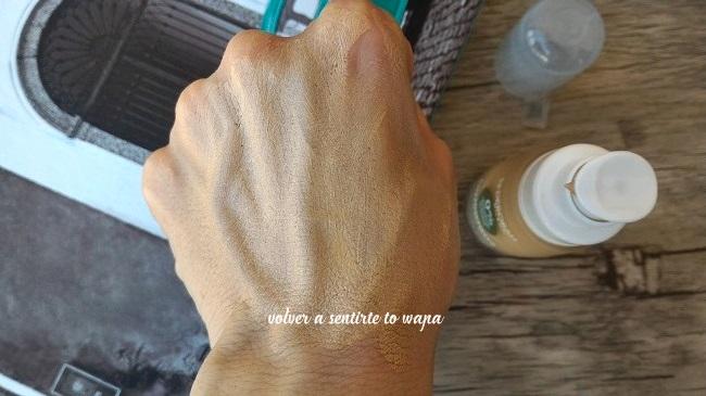 FondoTinta: maquillaje sin parabenos, ni siliconas de Deborah Milano - Dispensador - Tono 02 Beige
