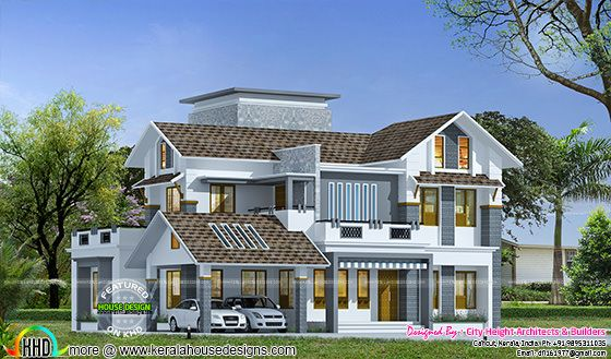 325 square meter beautiful house exterior