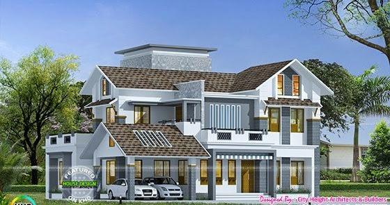 325 square meter beautiful house exterior