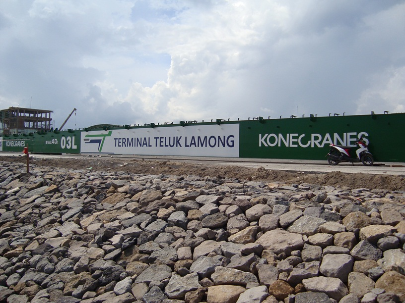 Beyond Dredging At Lamong Bay, Surabaya, East Java