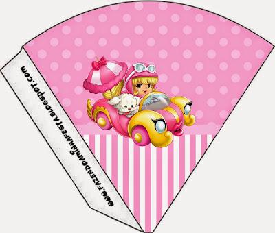 Conos=Cucuruchos de Penelope Glamour Bebé.
