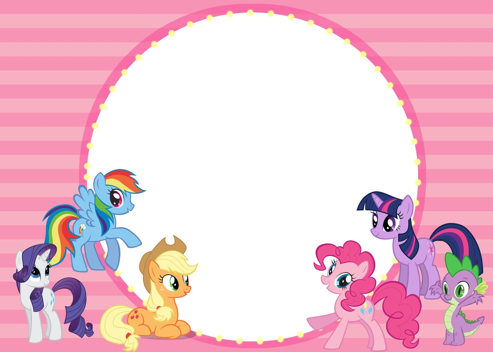 The Wagner Bulletin How To Throw An Affordable My Little Pony Party Free Printables