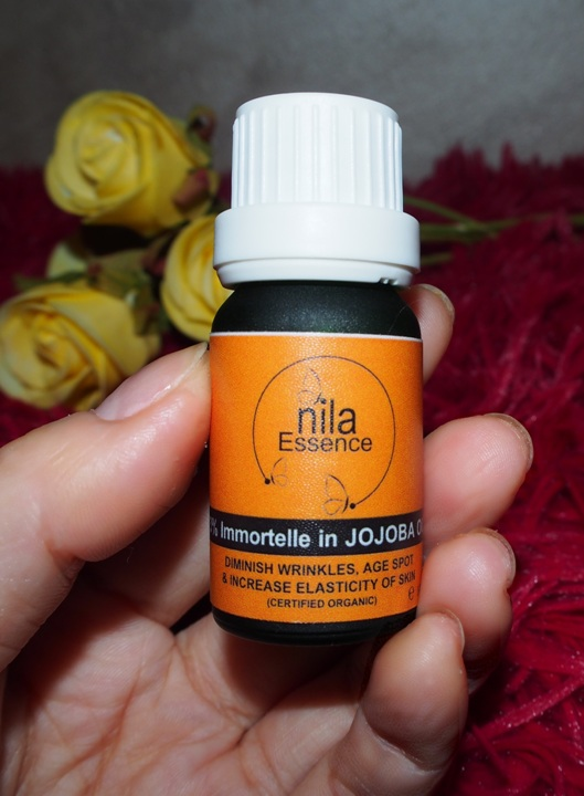 nila singapore immortelle in jojoba oil diminish wrinkles