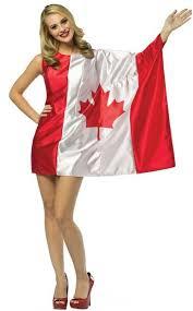 chica rubia de los mas hot con la bandera de canada.