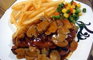 Cara memasak steak saus jamur, resep steak saus jamur