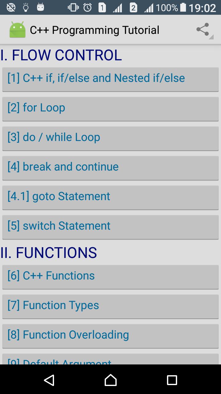 C programming tutorial full app learning complete c tutorials simple user interface colorful programs for better understanding baditri Choice Image
