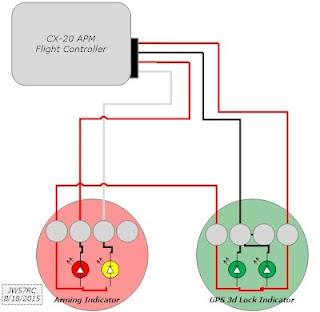 quadcopter robotics nova external leds. Black Bedroom Furniture Sets. Home Design Ideas
