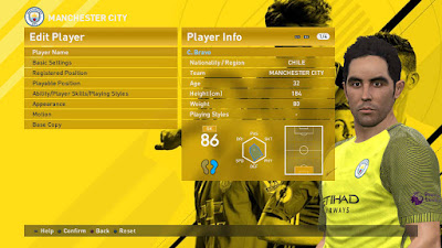 PES 2016 Galaxy 3.0 Transfers Update Aug. 31 By Haji_iiii