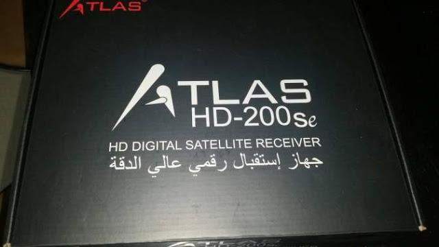 شرح طريقة ادخال اشتراك CCCAM على جهاز ATLAS HD-200SE ,شرح طريقة ادخال اشتراك CCCAM ,على جهاز ,ATLAS HD-200SE,