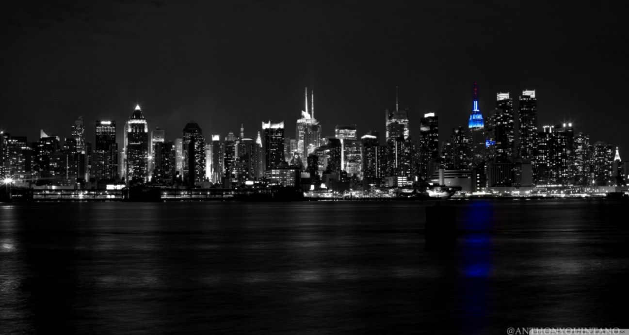 Skyline New York City Black And White Hd Wallpaper