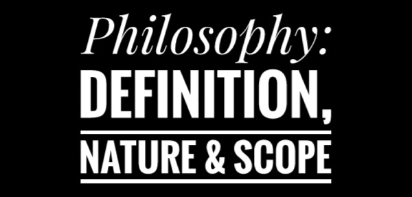 scope of philosophy Academiaedu is a platform for academics to share research papers.