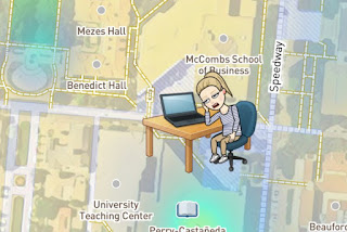 Snap Map Actionmoji Computer