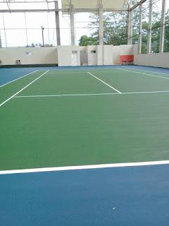 Proses Pembuatan Lapangan Tenis Dari Kontraktor Lapangan Olahraga