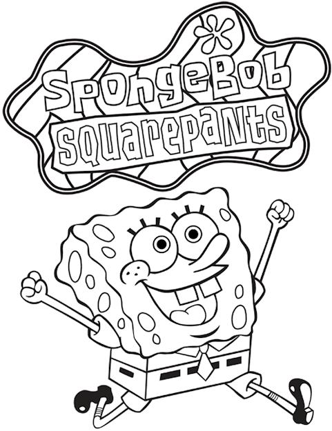 Coloring Pages Spongebob Squarepants Printable