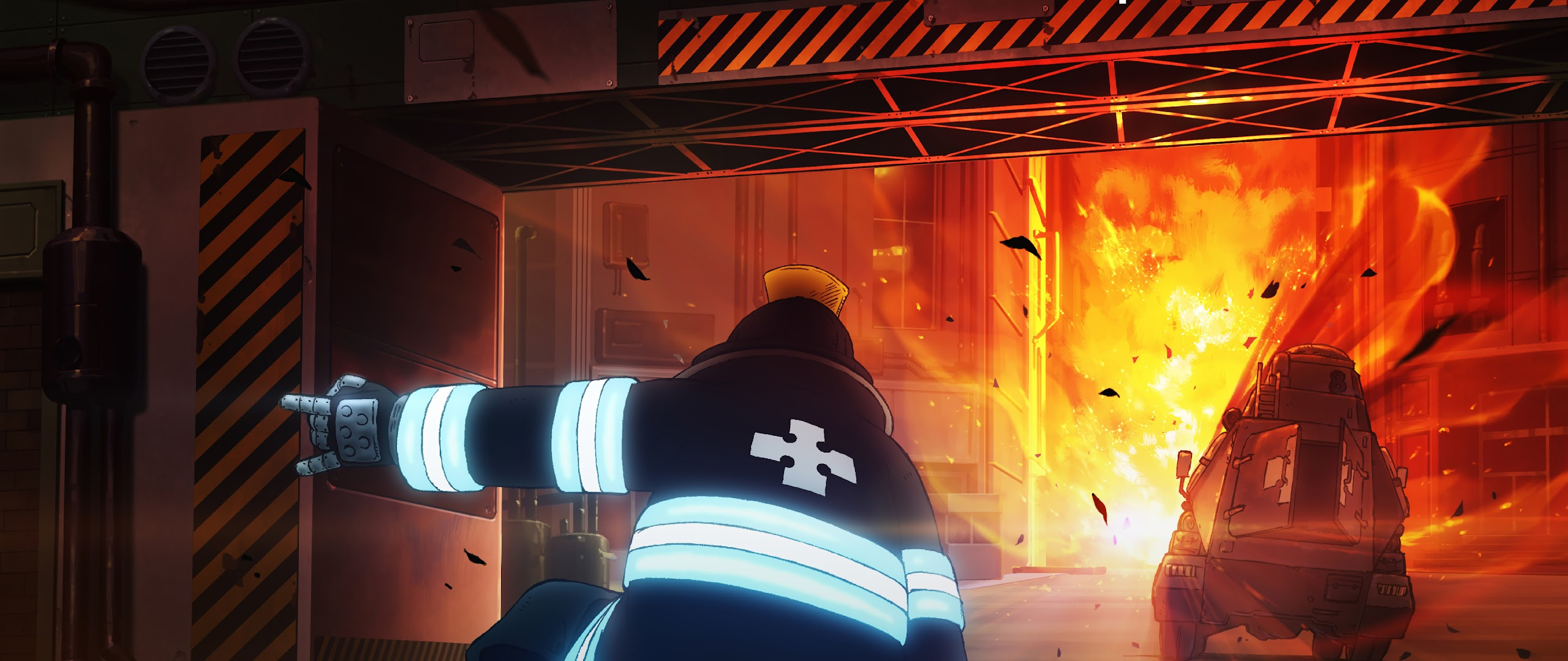 Wallpaper Smartphone Anime Fire Force Anime 4k 20 Wallpaper