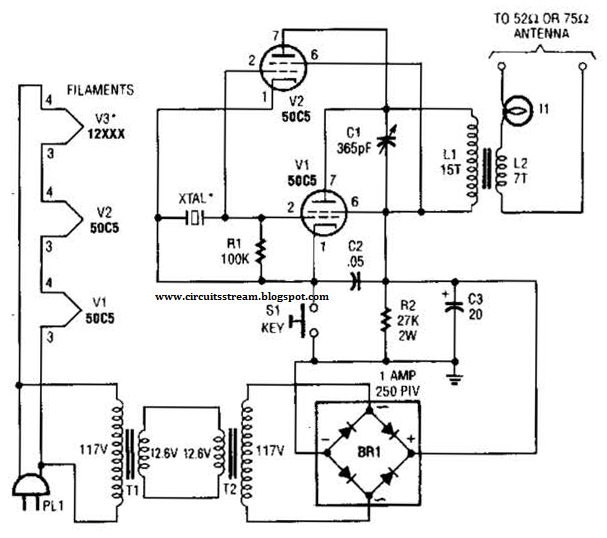 Low Power Atv Jr Transmitter 440Mhz Circuit Diagram