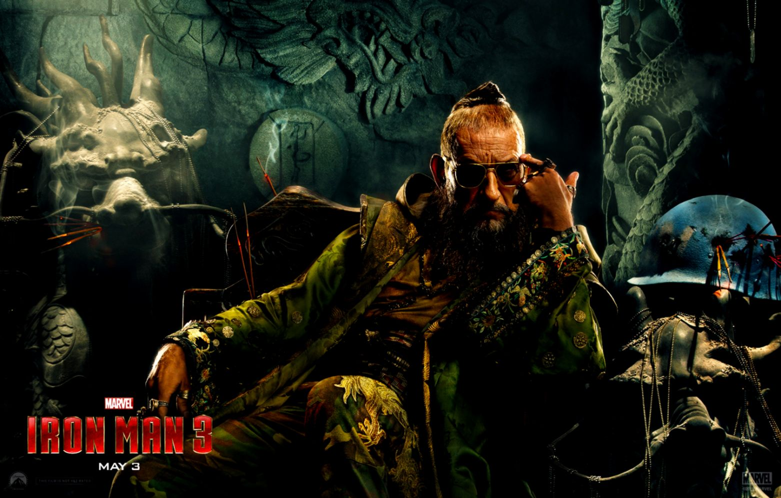 Ben Kingsley As The Mandarin Wallpaper and Background Image