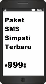 Cara Daftar Paket SMS Simpati Terbaru