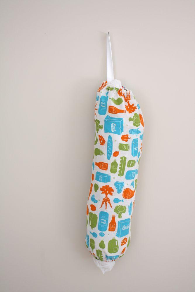 20 minute grocery bag holder tutorial