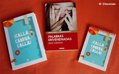 Libros firmados por Maite Carranza en la BLC 2017