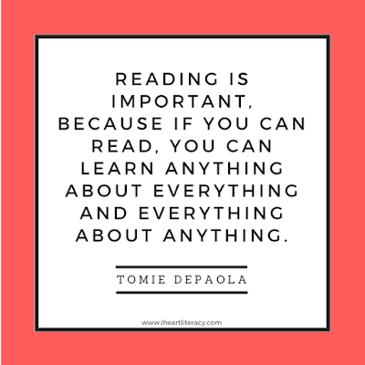Reading is important, because if you can read, you can learn anything about everything and everything about anything.