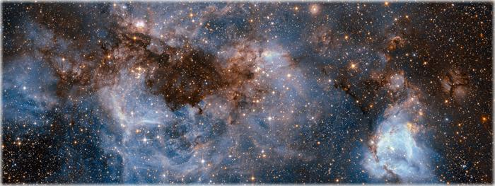 estrelas hipervelozes invadindo a Via Láctea
